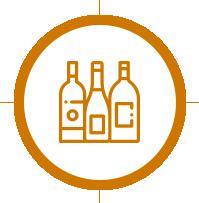 pictogramme secteur boissons et vins