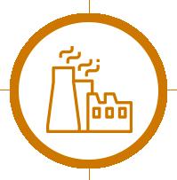 pictogramme secteur industrie